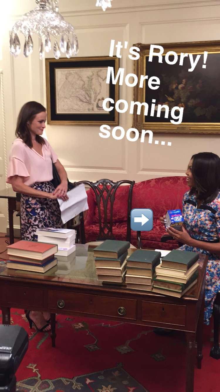 Reprodução / Snapchat: MichelleObama