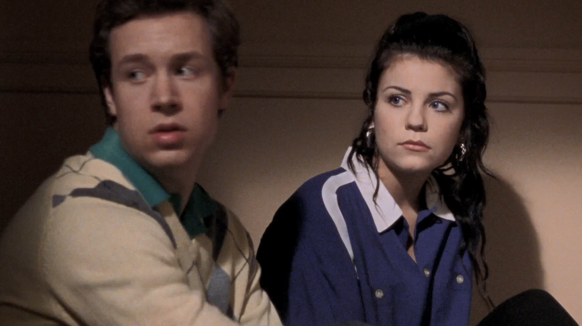 "Christopher e Lorelai jovens no episódio ""Dear Emily and Richard""."